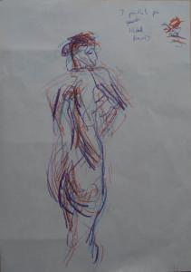 Life Drawing 09/17/2015